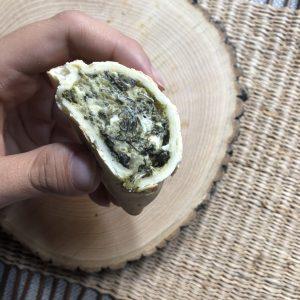 Empanadilla de espinacas a la crema
